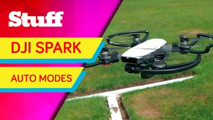 Putting the DJI Spark's superb auto modes to the test