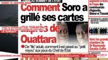 Le Titrologue du 14 Janvier 2020 : Crise au sommet de l'Etat, comment Soro a grillé ses cartes auprès de Ouattara