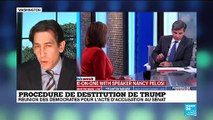 Impeachment : Des preuves suffisamment concrètes pour mener Trump à la destitution selon Nancy Pelosi