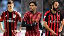 'Gazzetta dello Sport' lista os jogadores que não vingaram no Milan