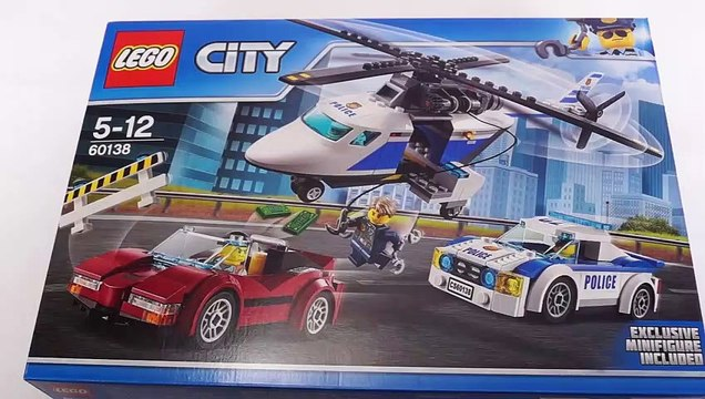 LEGO CITY Police 60138 High-speed Chase Speed Build