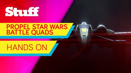 Propel Star Wars Battle Quads - Hands on