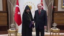 Cumhurbaşkanı Erdoğan, Türkiye Ermenileri 85. Patriğini kabul etti