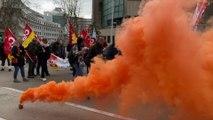 Toujours mobilisés à Toulon contre le projet de réforme des retraites
