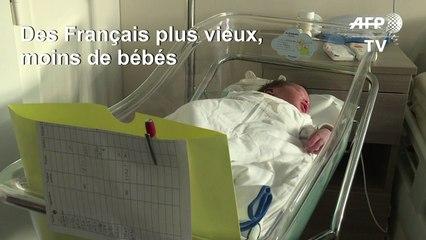 La France compte 67 millions d'habitants et toujours un peu moins de bébés