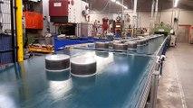 Le processus de fabrication chez Cristel à Fesches-le-Châtel dans le Doubs