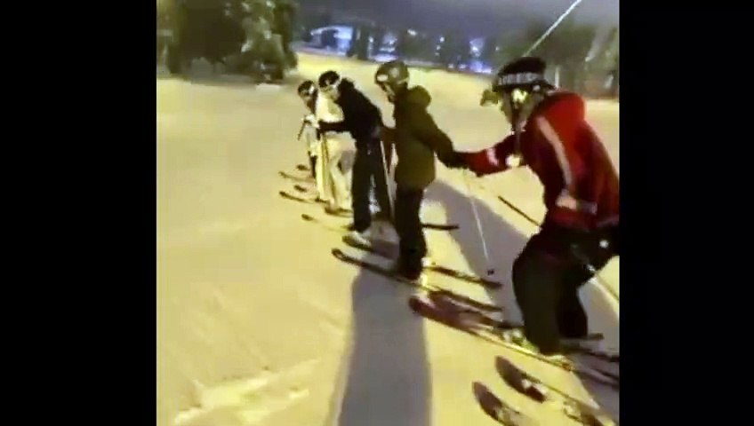 Ski Freestyle - The squad goes full send, Jon Sallinen
