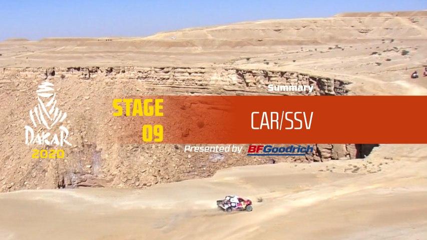 Dakar 2020 - Stage 9 (Wadi Al-Dawasir / Haradh) - Car/SSV Summary