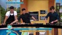 ¡Para esos antojos 'El Chino' nos enseña a preparar unos exquisitos Chilli Dogs! | Venga La Alegría