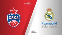 CSKA Moscow - Real Madrid Highlights | Turkish Airlines EuroLeague, RS Round 19