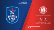 Anadolu Efes Istanbul - AX Armani Exchange Milan Highlights | EuroLeague, RS Round 19