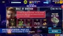 #93 CSR Racing 2   Best of British   Part 2/2   Lotus Exige Sport 350 Roadster & TVR Sagaris