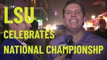 LSU Celebrates National Championship, would rather have Joe Burrow than Tom Brady