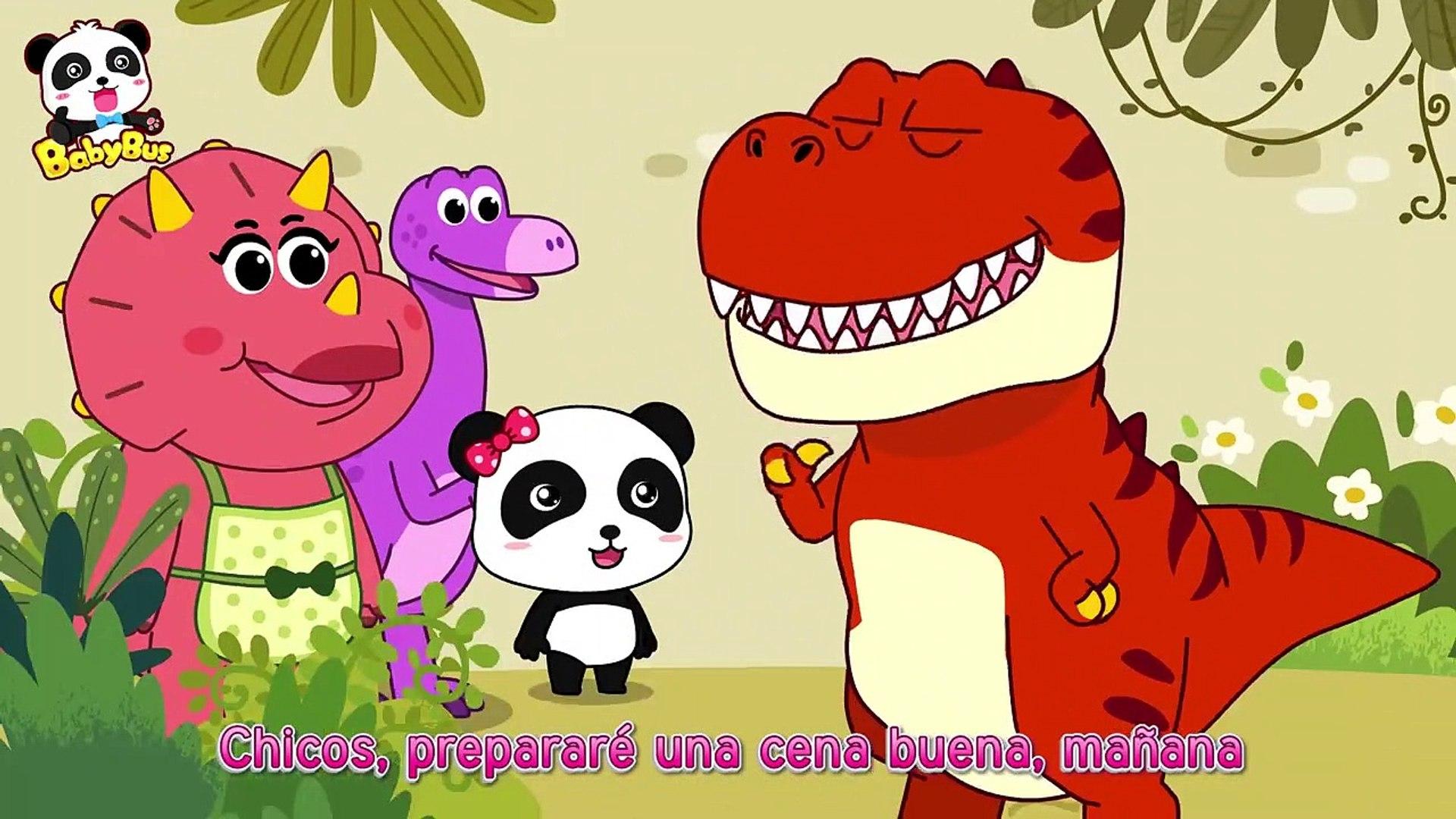 La Cena De Dinosaurio Canciones Infantiles Dinosaurios Para Niños Babybus Español Vídeo Dailymotion