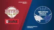 Umana Reyer Venice - Germani Brescia Leonessa Highlights | 7DAYS EuroCup, T16 Round 2