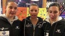 Tennis de table - Le réactions de Séphanie Loeuillette, Marie Migot et Laura Gasnier après Etival -Saint-Pierre (3-1)