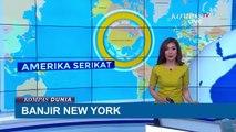 Saluran Air Rusak, Banjir Melanda New York