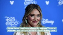"""You"" fans think Victoria Pedretti and Hilary Duff are celebrity twins, and it's so eerie"