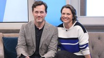 Tom Everett Scott & Larisa Oleynik Talk About New Show 'The Healing Powers of Dude'