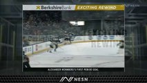 Alexander Wennberg Scores Goal No. 4 As Bruins Trail Blue Jackets Early