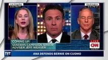 Ana Kasparian on CNN Calling Out Warren's Shady Attacks on Bernie Sanders