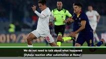 Sarri addresses Dybala rift rumours