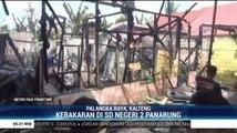 Gedung Sekolah di Palangka Raya Ludes Terbakar Diduga Akibat Korsleting Listrik