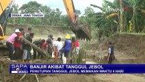 Tanggul Jebol di Demak Bikin Banjir, 6 Alat Berat Dikerahkan