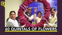 Mayawati Turns 64: A Look At Her Extravagant Last 10 Birthdays | The Quint