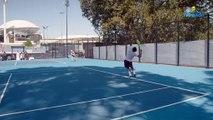 Open d'Australie 2020 - Félix Auger-Aliassime's practice in Australia