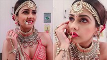 Dalljiet Kaur's Bridal Look Goes Viral । Bigg Boss 13 । Boldsky