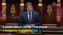 Retraites : Jacob accuse Macron d'avoir « trompé les Français »