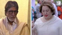 Amitabh Bachchan Gets Emotional On Demise Of Daughter's Mother-In-law