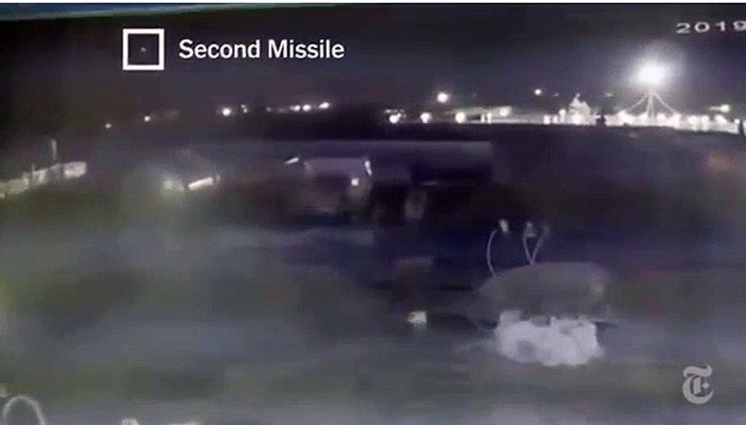 Une vidéo-surveillance montre que 2 missiles ont touché l'avion Iranien