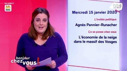 Agnès Pannier-Runacher - Public Sénat mercredi 15 janvier 2020