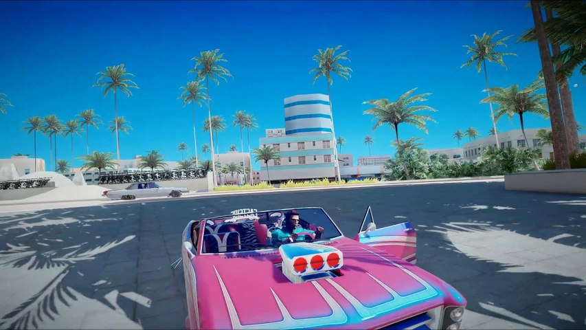 GTA_ Vice City 2020 Remastered Gameplay! 4k 60fps Next-Gen Ray Tracing Graphics _GTA 5 PC Mod_ ( 1080 X 1080 )