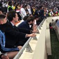 La réaction de Federico Valverde lors de la séance de tirs au but entre le Real Madrid et l'Atlético