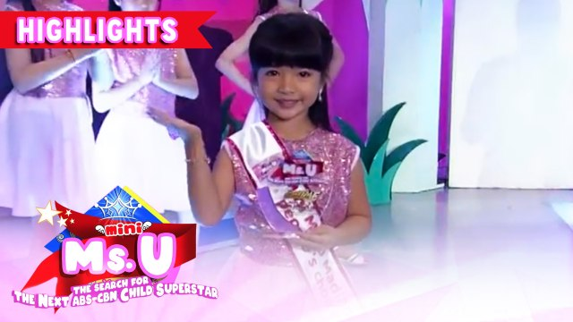 Astrid Feliciano emerges as winner of the day | It's Showtime Mini Miss U