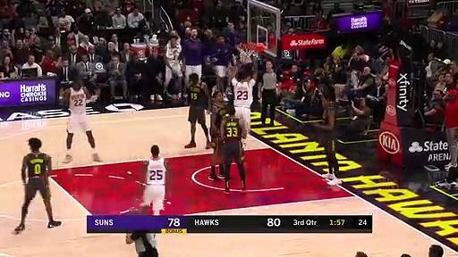 Phoenix Suns 110 - 123 Atlanta Hawks