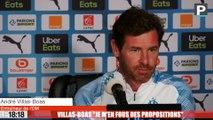 """OM - Villas-Boas sur son avenir : """"Je m'en fous des propositions des autres clubs"""""""