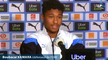 "Kamara : ""Je vois mon avenir à l'OM"""
