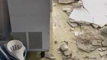 Se desprende el techo de la Fundación del Ramón y Cajal