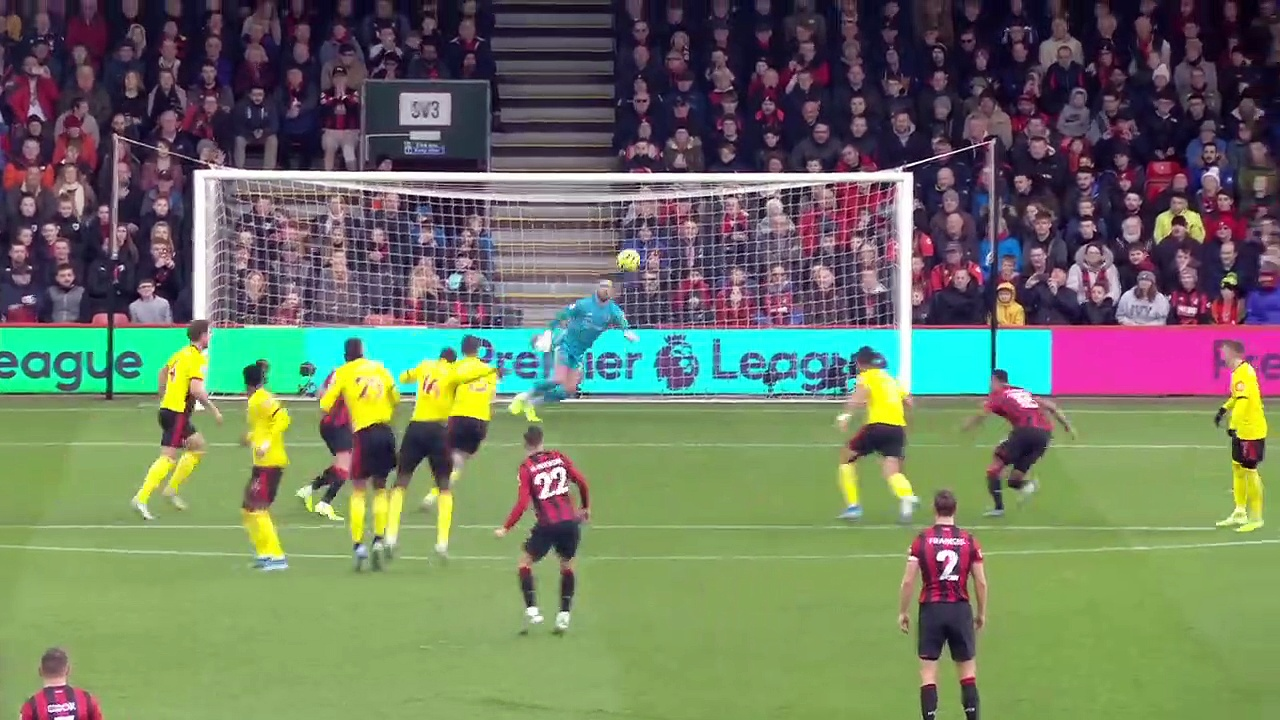 Bournemouth - Watford (0-3) - Maç Özeti - Premier League 2019/20