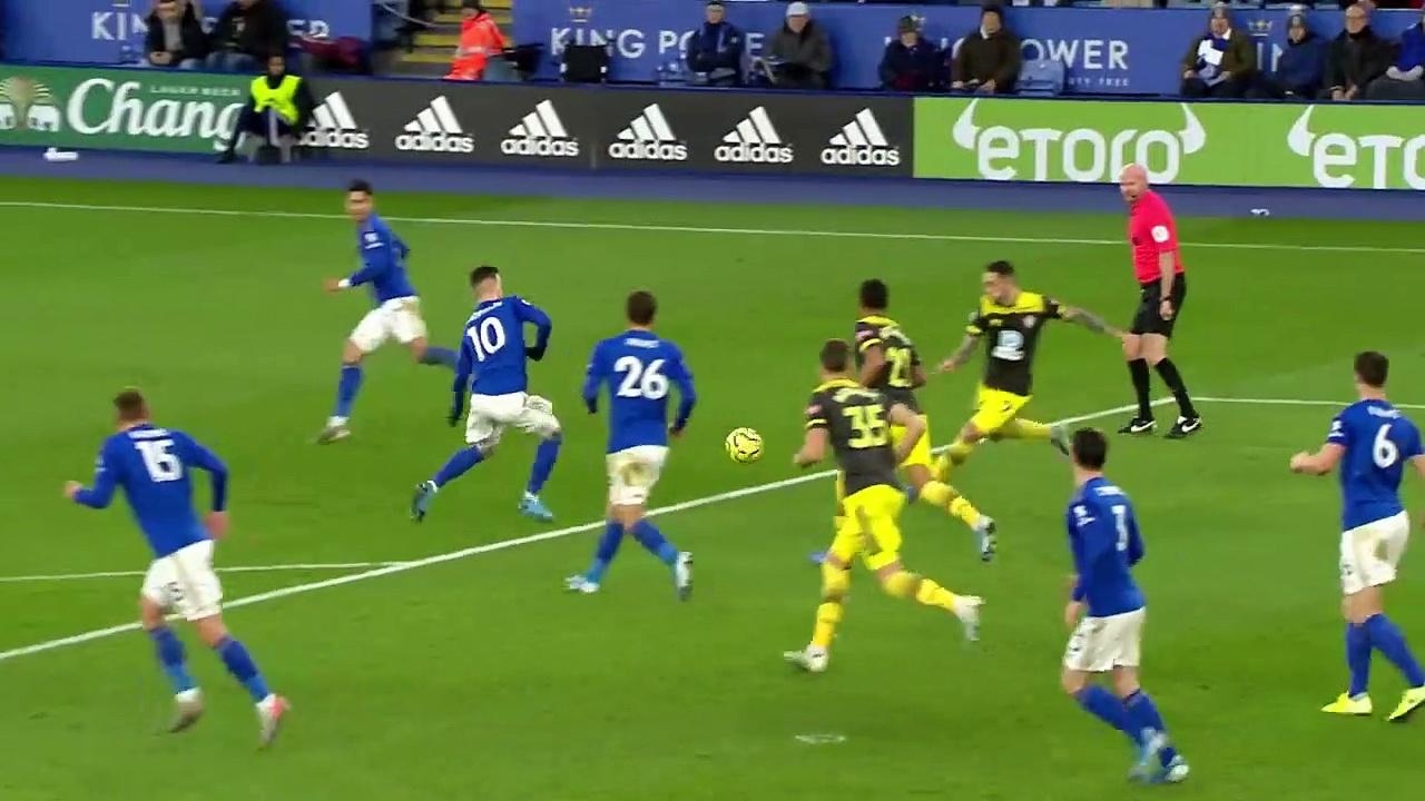 Leicester City - Southampton (1-2) - Maç Özeti - Premier League 2019/20