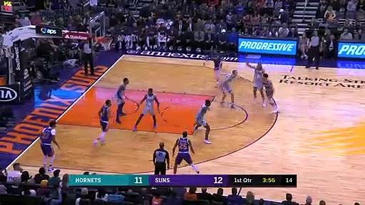 Charlotte Hornets 92 - 100 Phoenix Suns