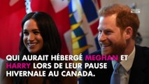 Meghan et Harry hébergés par un milliardaire canadien ? Il nie fermement