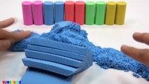 Learn Colors Mad Mattr Rainbow Sun Surprise Toys VS Giant Dinosaur For Kids