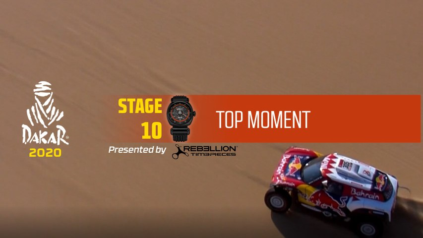 Dakar 2020 - Étape 10 / Stage 10 - Top Moment by Rebellion