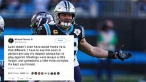 NFL Players React To Luke Kuechly's Retirement