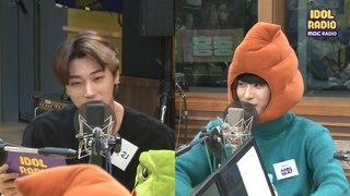 [IDOL RADIO] Choi San&Park Sung-hwa try to act♥♡